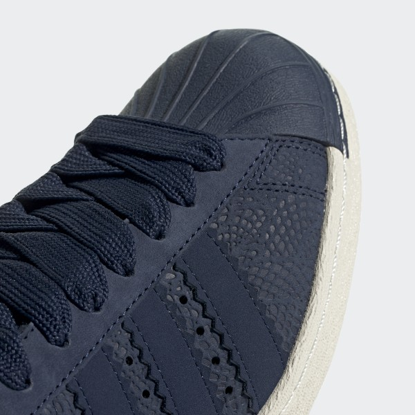 online store 7851e 0bf61 adidas Superstar 80s Shoes - Blue   adidas UK