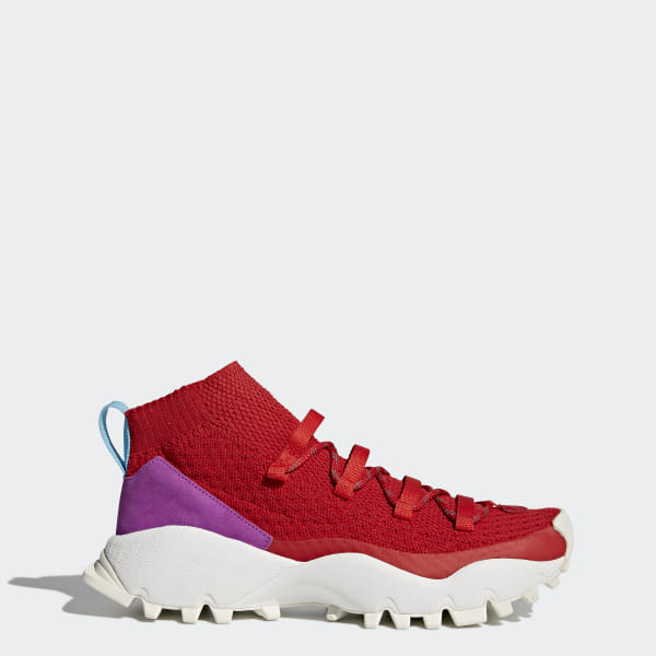 adidas Seeulater Primeknit Winter Shoes Red   adidas US