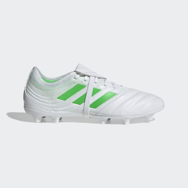 5aab9fa90ad3 Copa Gloro 19.2 Firm Ground Boots Ftwr White / Solar Lime / Ftwr White  D98062