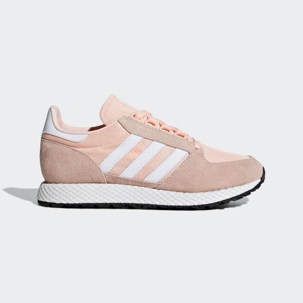 dc8d8e82ca3b Sapatos Forest Grove Pink / Cloud White / Core Black B37990