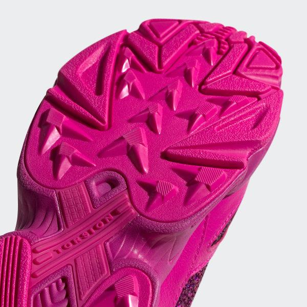 uk availability c1334 e557d Falcon Shoes Shock Pink   Shock Pink   Collegiate Purple BD8077