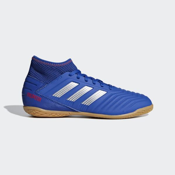 a74c1a63e Predator Tango 19.3 Indoor Shoes Bold Blue   Silver Metallic   Active Red  CM8543