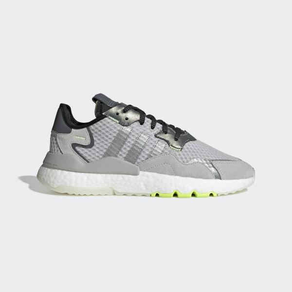 7136584cd90 Nite Jogger Schoenen Lgh Solid Grey / Ch Solid Grey / Hi-Res Yellow EF5839