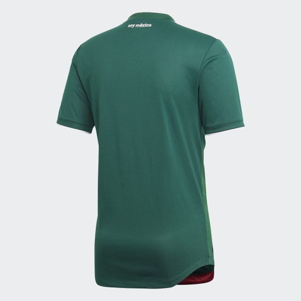 463268aab Mexico Home Authentic Jersey Collegiate Green   White BQ4703