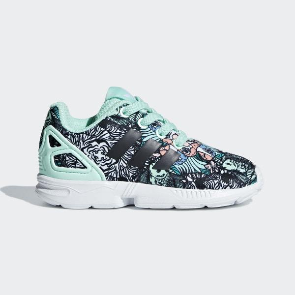 adidas ZX Flux Shoes Turquoise | adidas Ireland