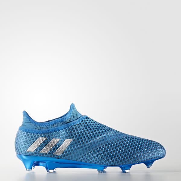 7f5e3527526 adidas Men s Messi 16+ PUREAGILITY Firm Ground Boots - Blue ...