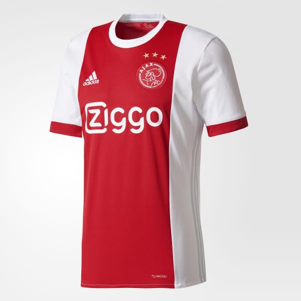 36562ede4538 adidas Ajax Amsterdam Home Jersey - White | adidas US
