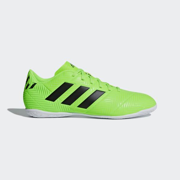 fe569d90d4 Chuteira Nemeziz Messi Tango 18.4 Futsal SOLAR GREEN CORE BLACK SOLAR GREEN  AQ0624