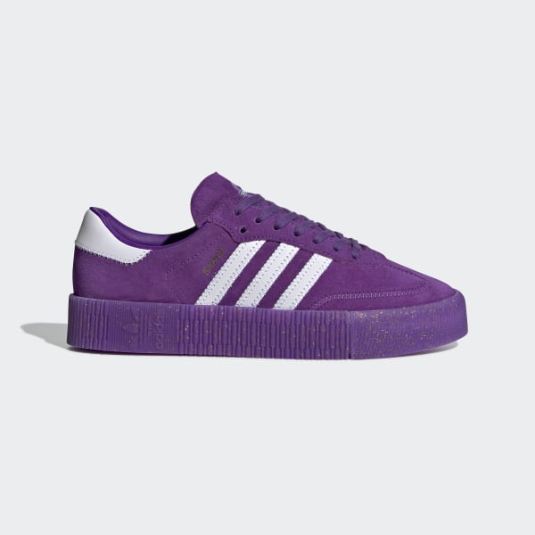 save off bdb83 c3f38 Originals x TfL SAMBAROSE Shoes Collegiate Purple   Ftwr White   Gold Met.  EE7275