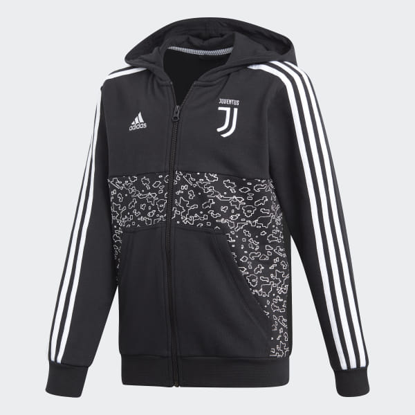 Felpa con cappuccio Juventus - Nero adidas | adidas Italia