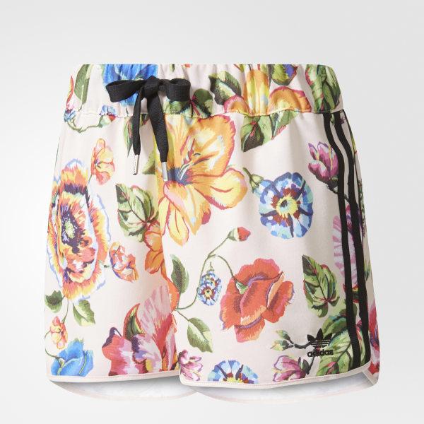 91ef30eeb92 adidas Floralita Shorts - Multicolour | adidas UK