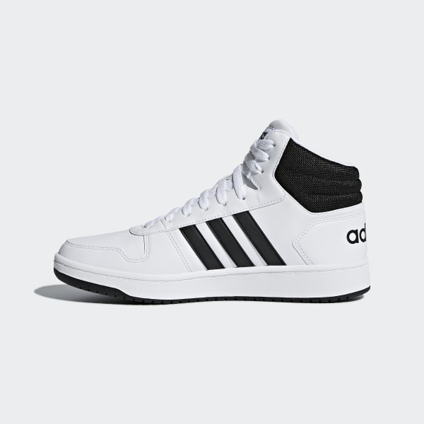 69711d31de14 Hoops 2.0 Mid Shoes Cloud White   Core Black   Core Black BB7208