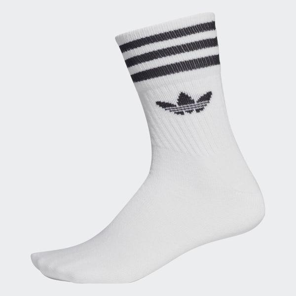 special sales coupon code recognized brands adidas Mid-Cut Crew Socken, 3 Paar - Weiß | adidas Austria