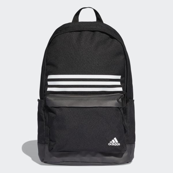 42ebf7788a Batoh Classic 3-Stripes Pocket Black   Black   White DT2616