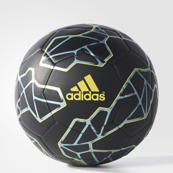 547b53679 Messi Soccer Ball Black / Bright Yellow / Matt Ice Met. S90258