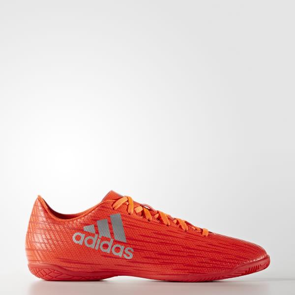 2f1bf1bc04c82 Chuteira X 16.4 - Futsal SOLAR RED / SILVER MET. / HI-RES RED