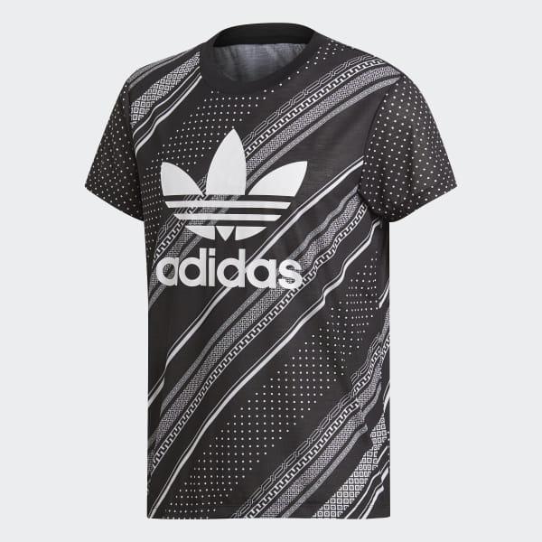 bda7b1e3 adidas Boyfriend Trefoil T-Shirt - Black | adidas UK