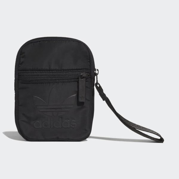 2386d85587e adidas Trefoil Festival Tas - zwart | adidas Officiële Shop