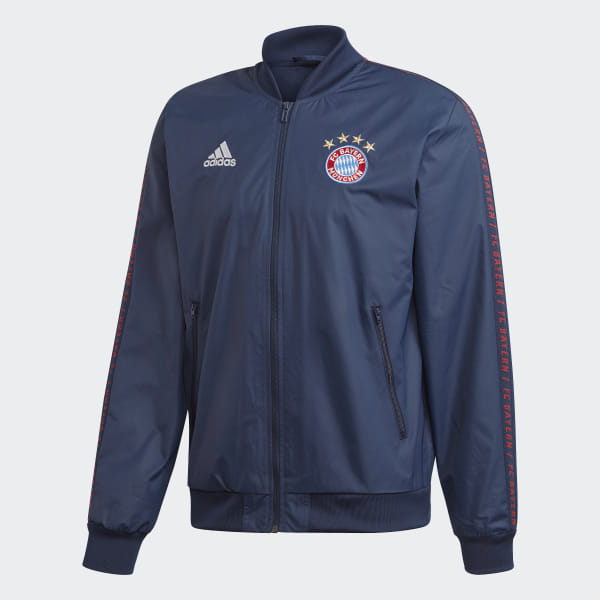 f009f32c4 Bluza reprezentacyjna Bayern Monachium Anthem Collegiate Navy DP4023