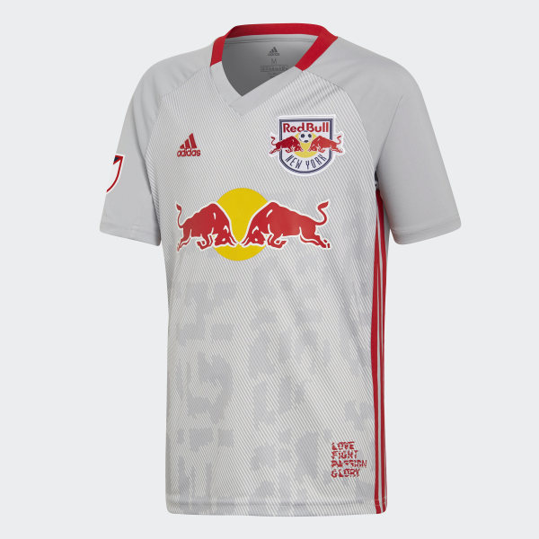 db5c024fc New York Red Bulls Home Jersey Clear Onix DP4797
