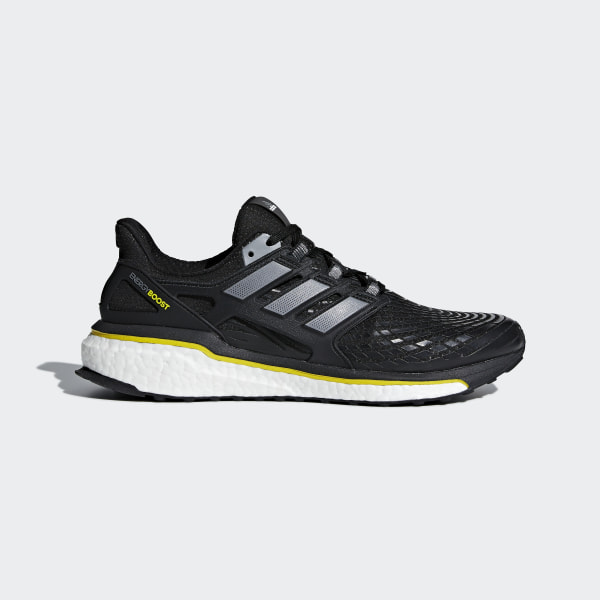 9ef1e4978 Energy Boost Shoes Core Black / Night Metallic / Vivid Yellow CQ1762