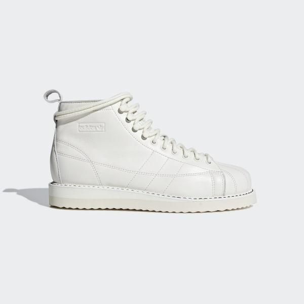 4b0cd3cda605 adidas Superstar Boots - White