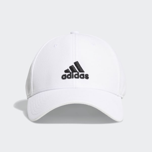 947b07522dbf8 adidas Stretch-Fit Trucker Hat - White