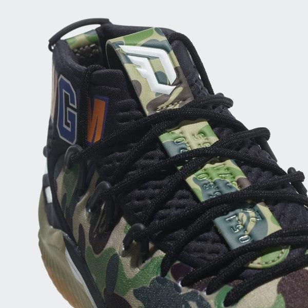 finest selection a84b3 39c4c Dame 4 BAPE Shoes Pantone   Cloud White   Core Black AP9974