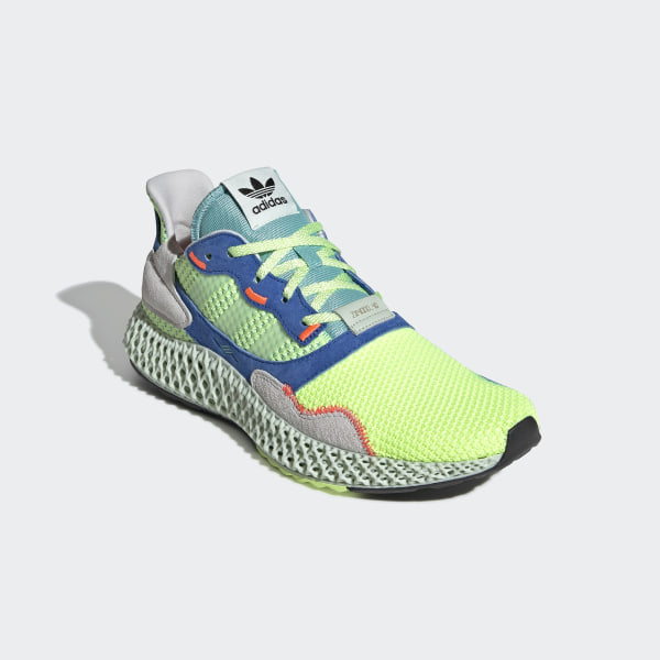 sports shoes cf120 3ac09 adidas ZX 4000 4D Shoes - Yellow | adidas UK