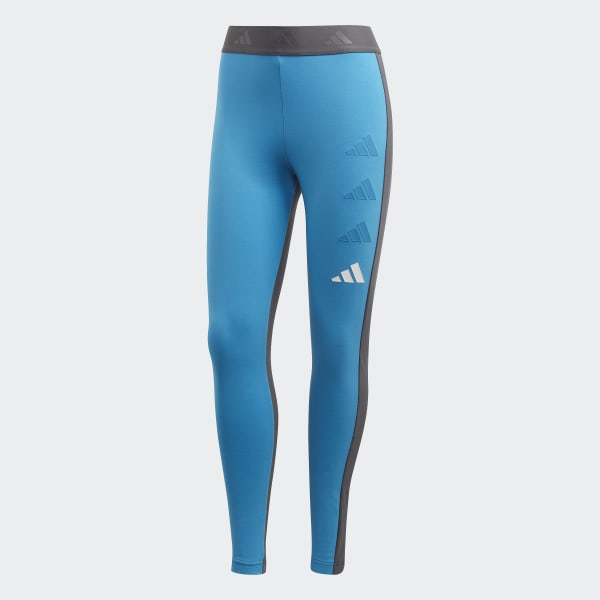 36261bf7 adidas Athletics Pack Tights Shock Cyan / Grey Six DP3863