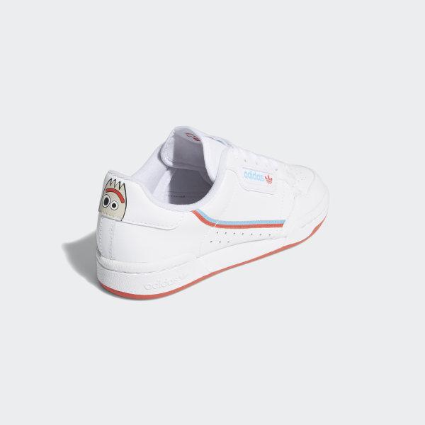 Adidas Continental 80 J, Zapatillas de Deporte Unisex Child