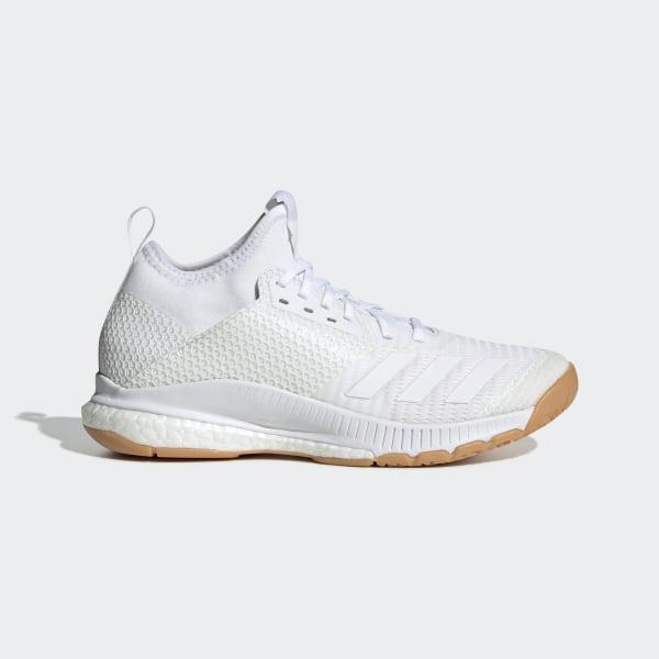 adidas Crazyflight X 3 Mid Shoes - White   adidas US