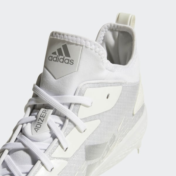on sale ce45a a09df Adizero Afterburner V Dipped Cleats Cloud White   Running White   Silver  Metallic AQ0087