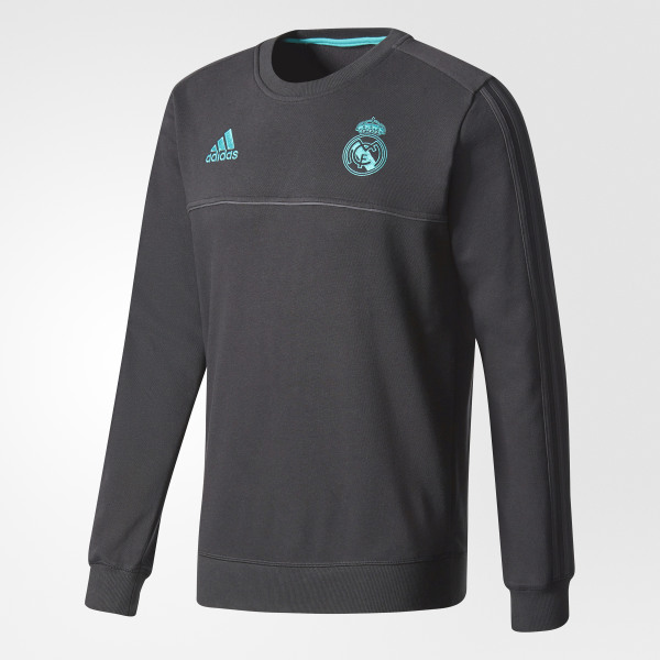 3c99ae424 adidas Real Madrid Sweatshirt - Black