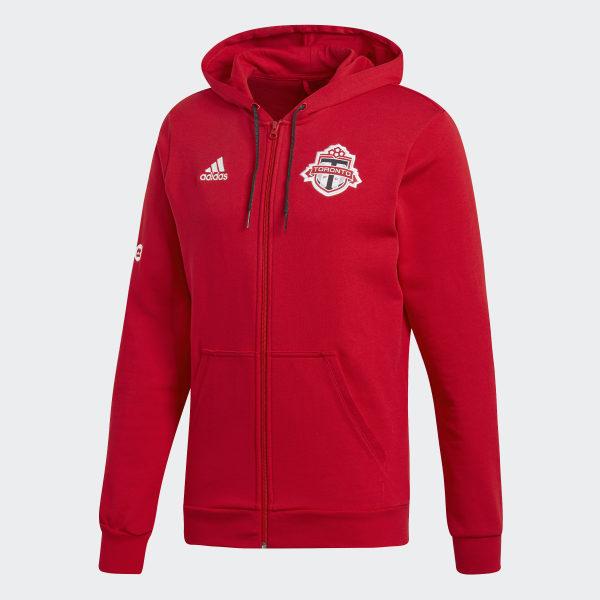 separation shoes bd9c8 23ce1 adidas Toronto FC Warm Jacket - Red | adidas Canada