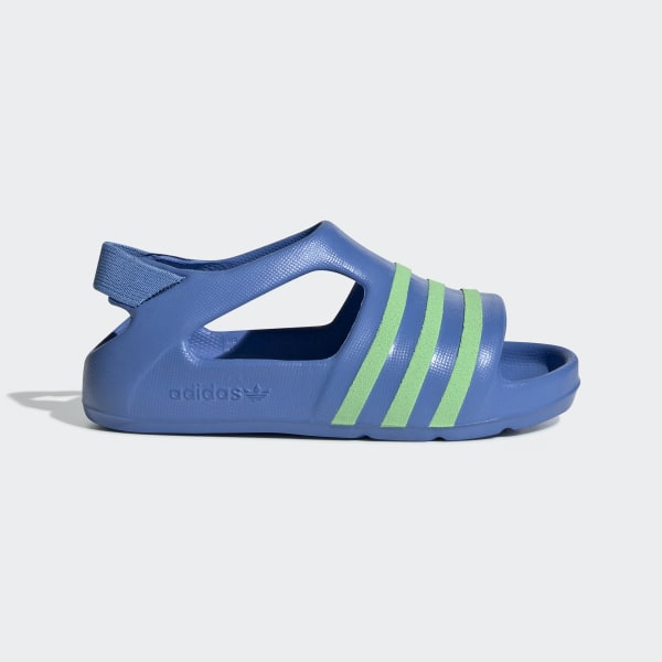5be7e960 Adilette Play Sandaler Real Blue / Glow Green / Real Blue EE7256