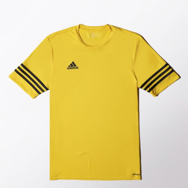 38e365e1dc Camisa Entrada 14 - Amarelo adidas   adidas Brasil
