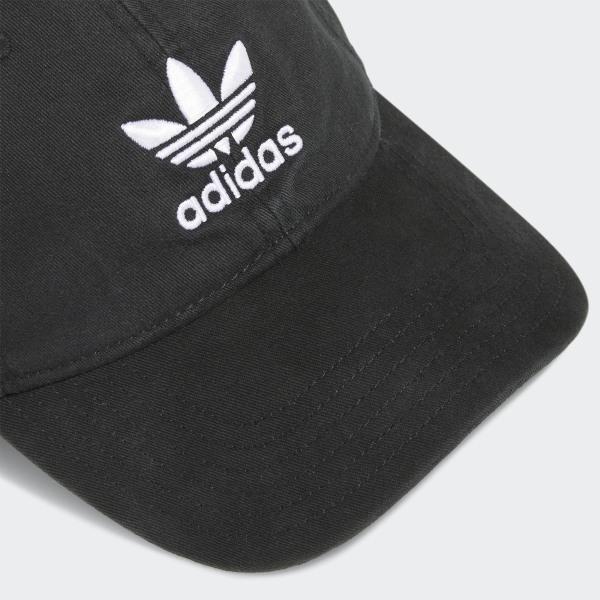 ca20f1dc6 adidas Originals Relaxed Strap-Back Hat - Black | adidas US