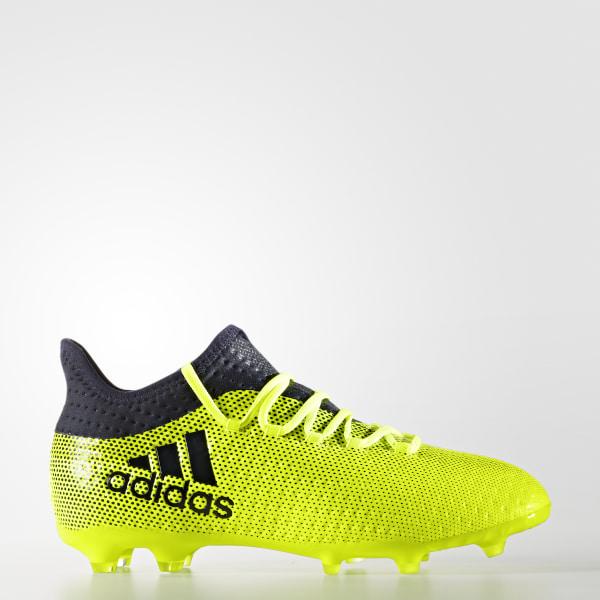 pick up 99026 1dac7 adidas X 17.1 Firm Ground Boots - Yellow | adidas UK