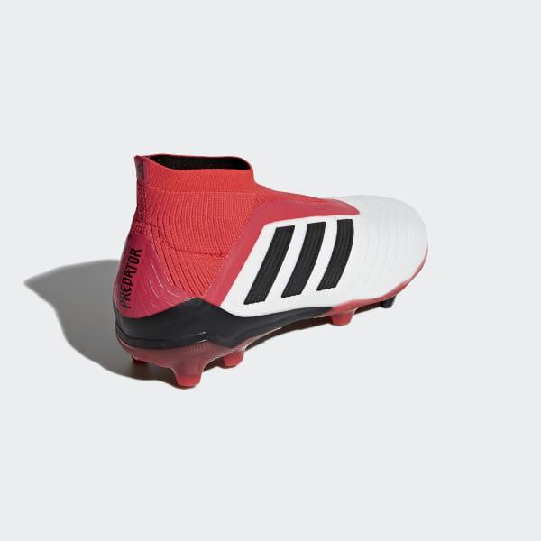 dc1e44f02a4 adidas Predator 18+ Firm Ground Boots - White | adidas US