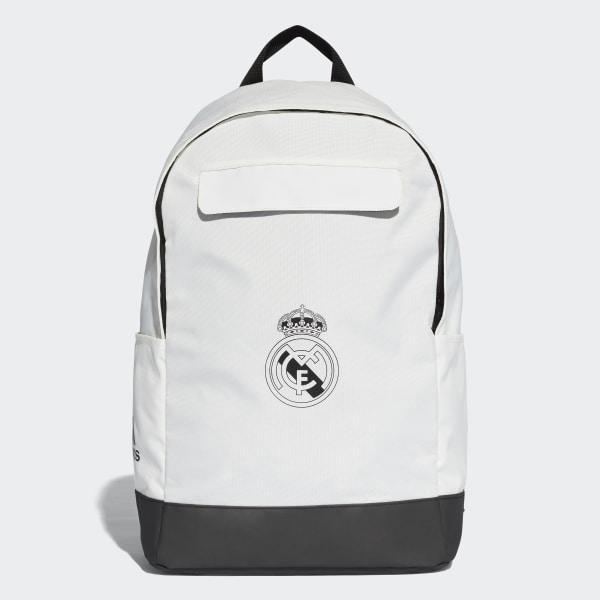 d82060bb1 adidas Real Madrid Backpack - White | adidas UK