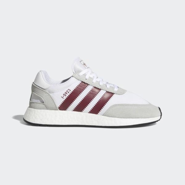 e19ba230 I-5923 Shoes Cloud White / Collegiate Burgundy / Grey Two D97231