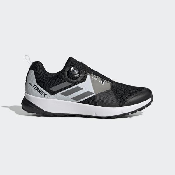 adidas Terrex Two Boa Trailrunning Schuhe Herren core black grey four footwear white
