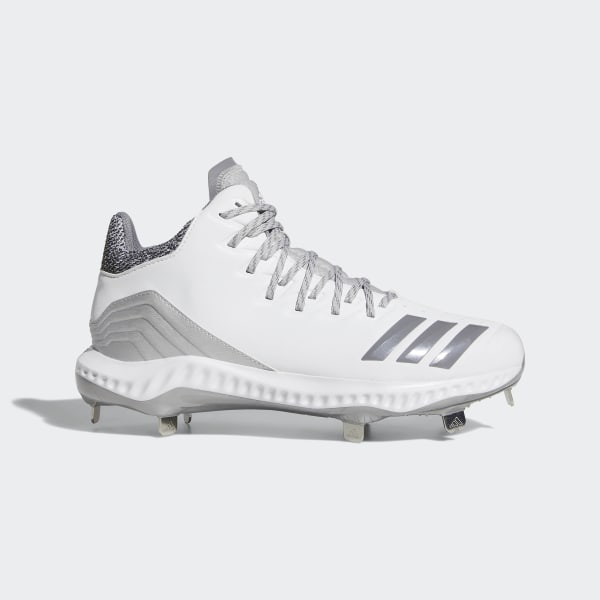 lowest price 565e3 1d9db Icon Bounce Mid Cleats Cloud White   Grey Three   Grey Two CG5181