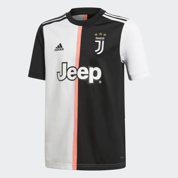 aeb3a2946fd Juventus Home Jersey Black   White DW5453