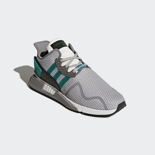d07ed1d7cba9f EQT Cushion ADV Shoes Grey Two / Sub Green / Ftwr White AH2232