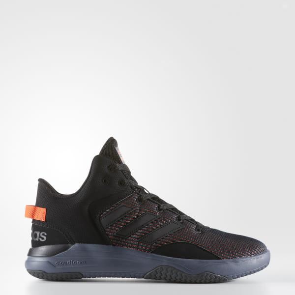 newest collection 78cbc bb3d8 Cloudfoam Revival Mid Shoes Core Black   Core Black   Solar Red AW3951