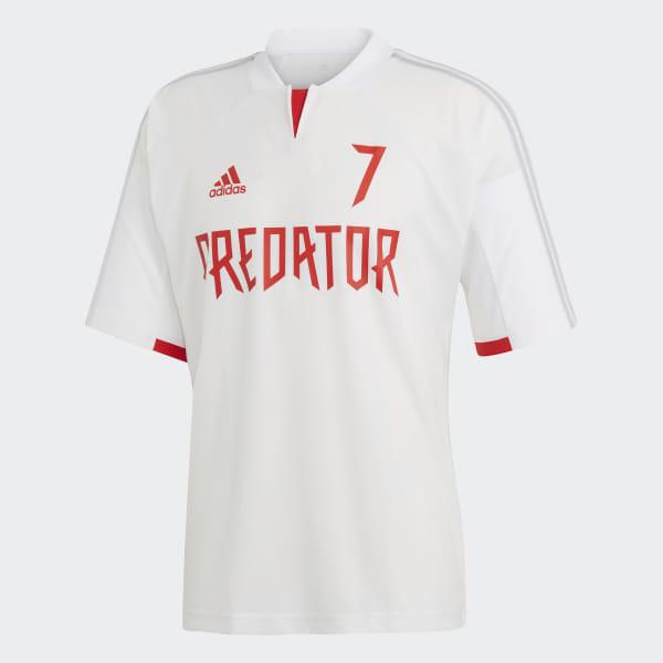 8ab057187a5 Predator David Beckham Jersey White   Clear Grey DZ7313