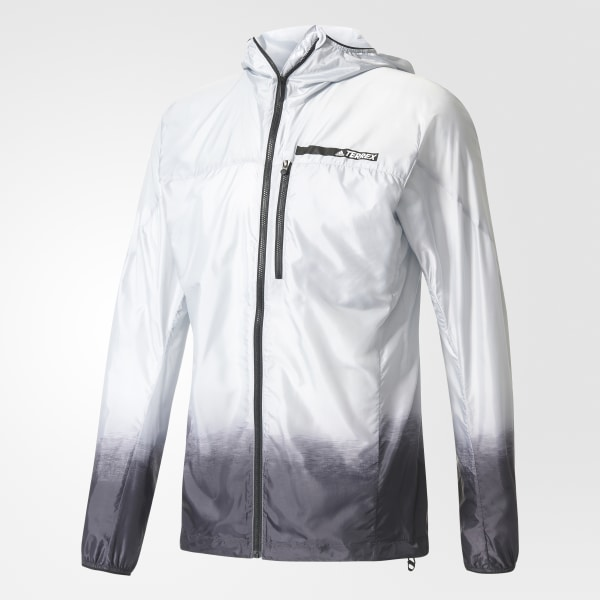 adidas Men's TERREX Agravic Wind Jacket Grey | adidas Canada
