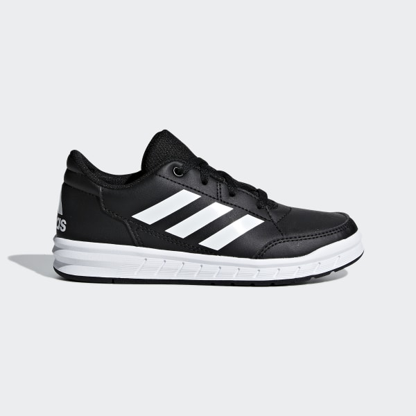 167e59d7afef04 Adidas Boys Black Back To School Shoes Trainers Alta sports Casual Kids  Children's